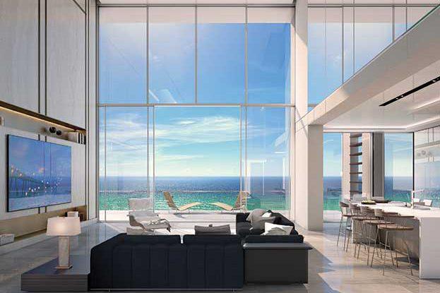 5000 North Ocean Seaglass Rendering, A Kolter Urban Property