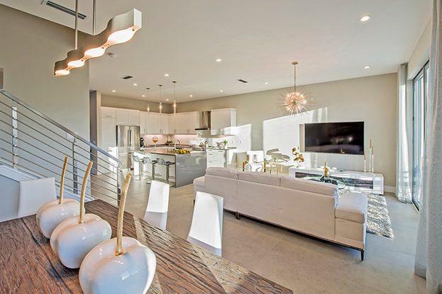 Moderne Boca Kitchen, by Kolter Urban