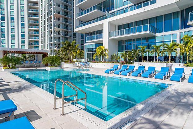 VUE Sarasota Pool, by Kolter Urban
