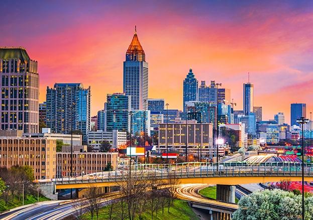 Atlanta Skyline, Home to a Kolter Urban Property