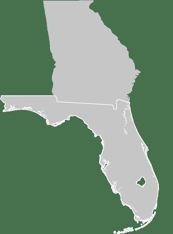 Florida-Georgia Map