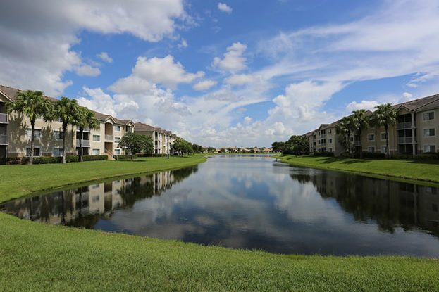 Lake at San Michele Andros Isles in West Palm Beach, a Kolter Urban Property