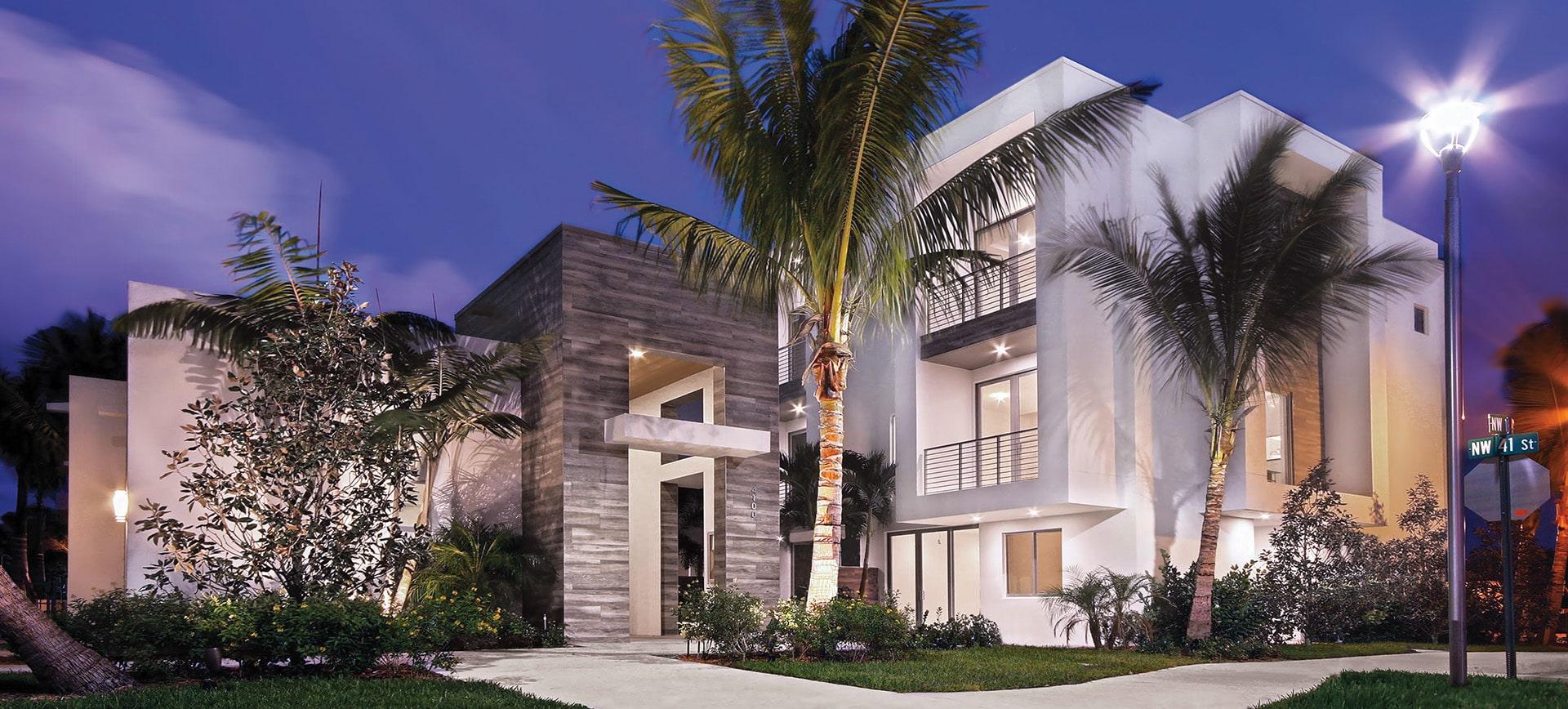 Moderne Boca Exterior by Kolter Urban