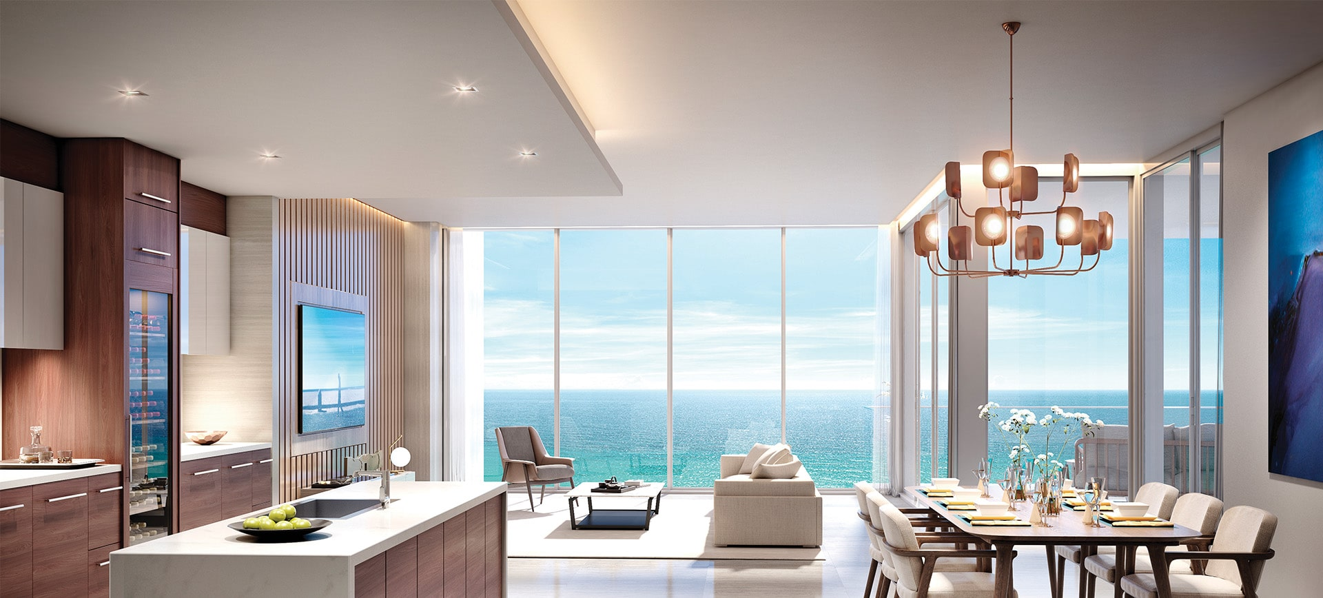 5000 North Ocean Seabreeze South Rendering by Kolter Urban