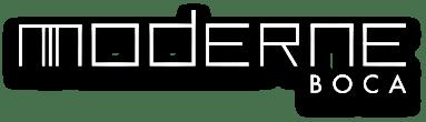 Moderne Boca logo by Kolter Urban