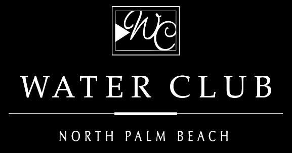 Water Club North Palm Beach Logo by Kolter Urban