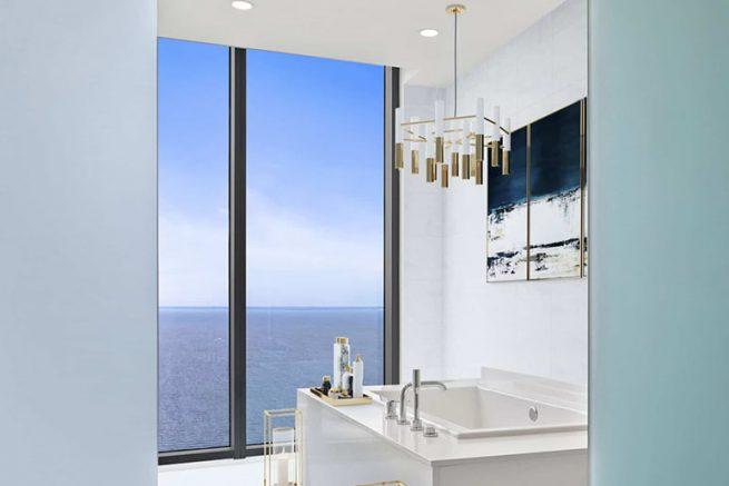 ONE St. Pete penthouse bath
