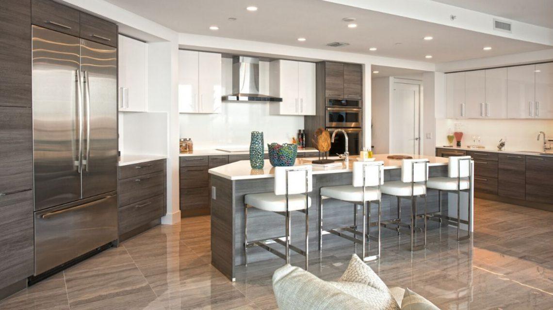 100 las olas residence 2803 new kitchen