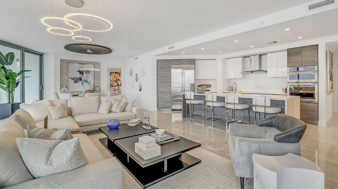 100 Las Olas Residence 2803 Living Area 03