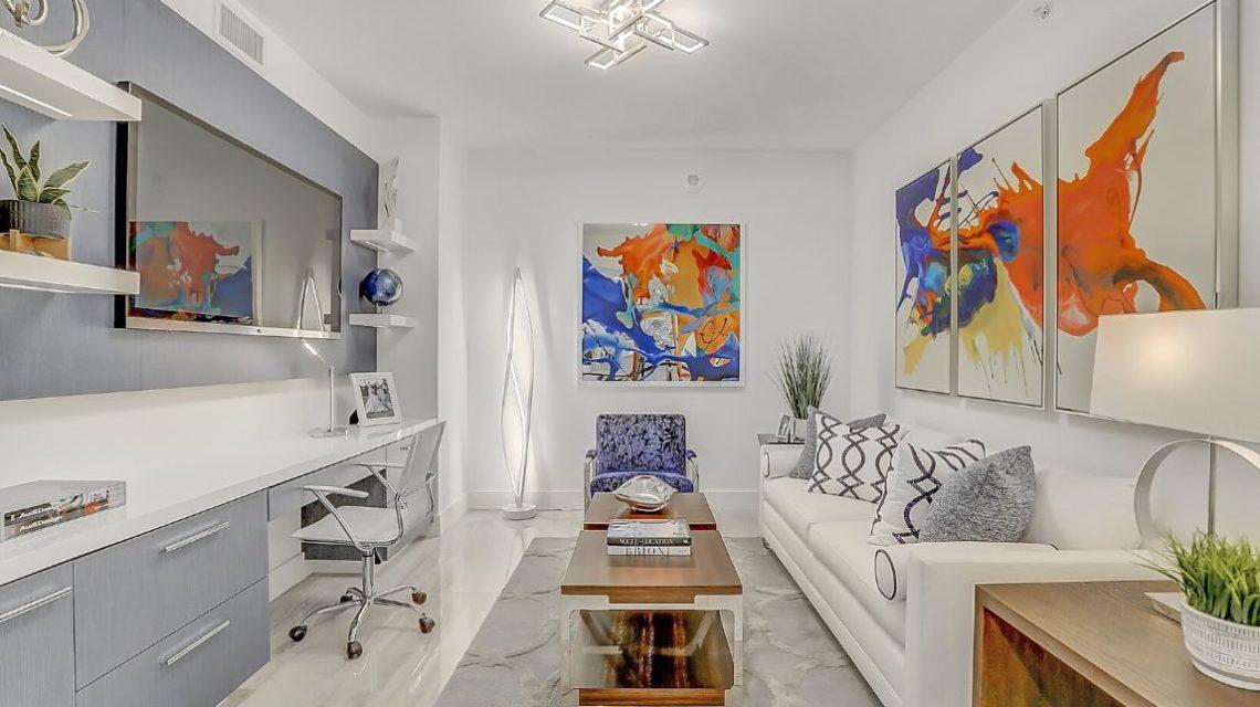100 Las Olas Residence 2803 Den Office 01