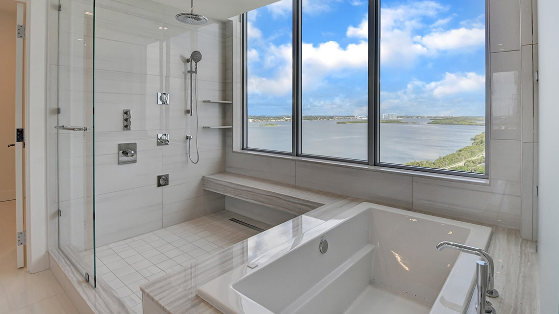 5000 North Ocean Seabreeze South 1901 Master Bath