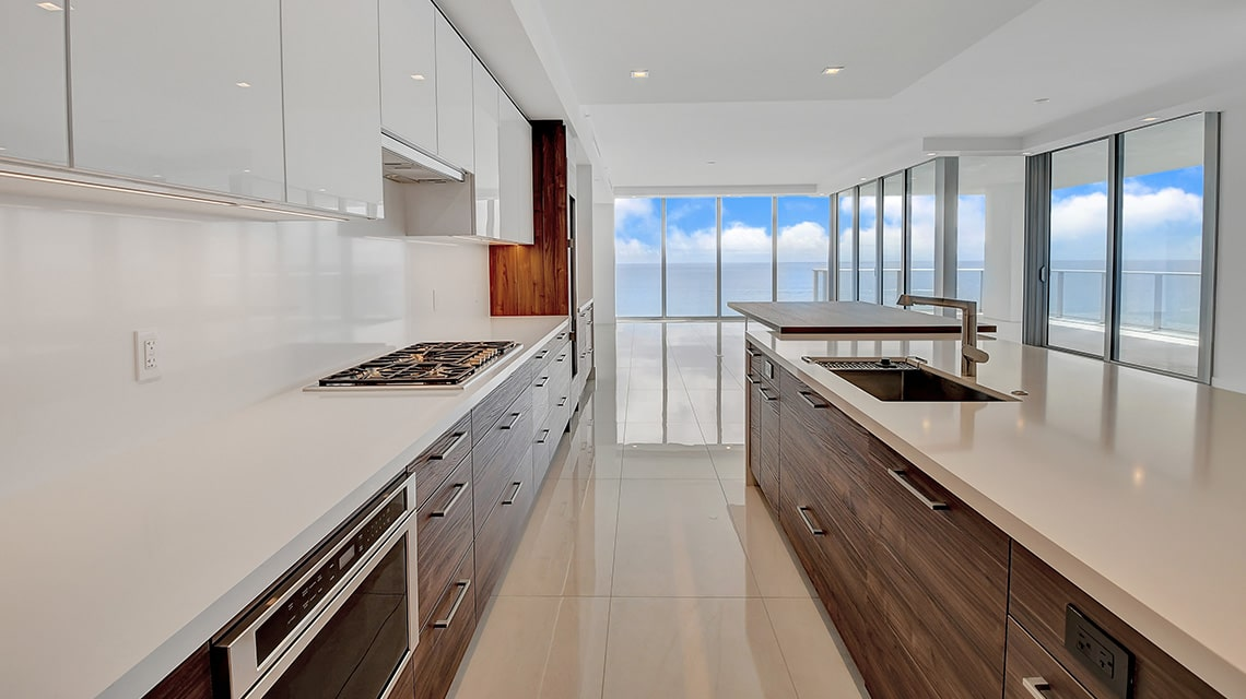 5000 North Ocean Seabreeze South 1503 kitchen