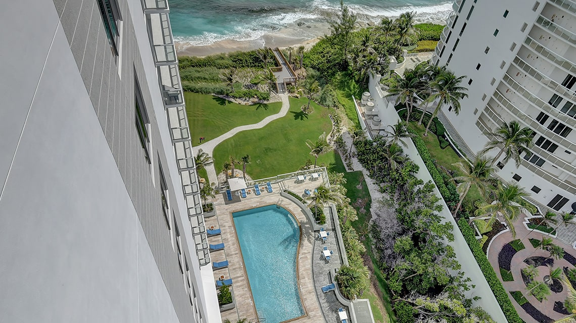 5000 North Ocean Seabreeze South 1503 pool view