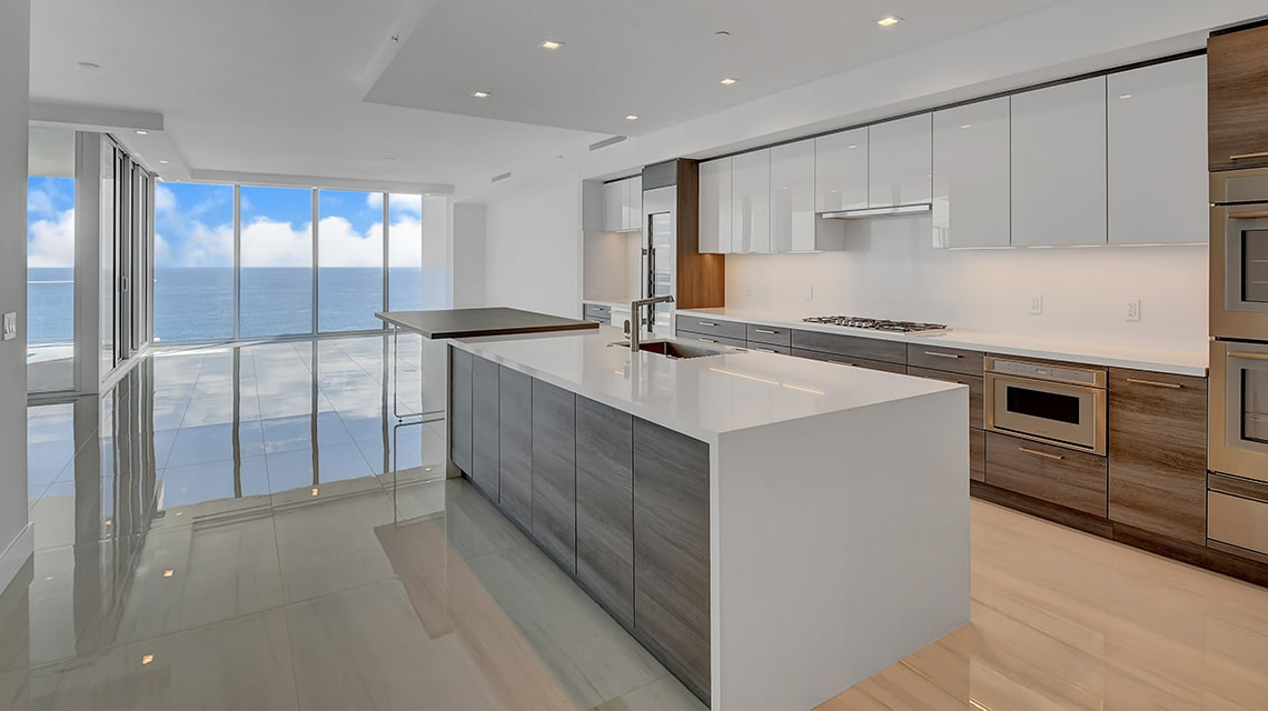 5000 North Ocean Seabreeze South 1801 Kitchen