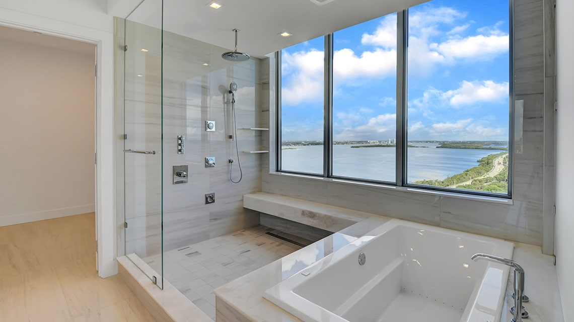 5000 North Ocean Seabreeze South 1801 Master Bath