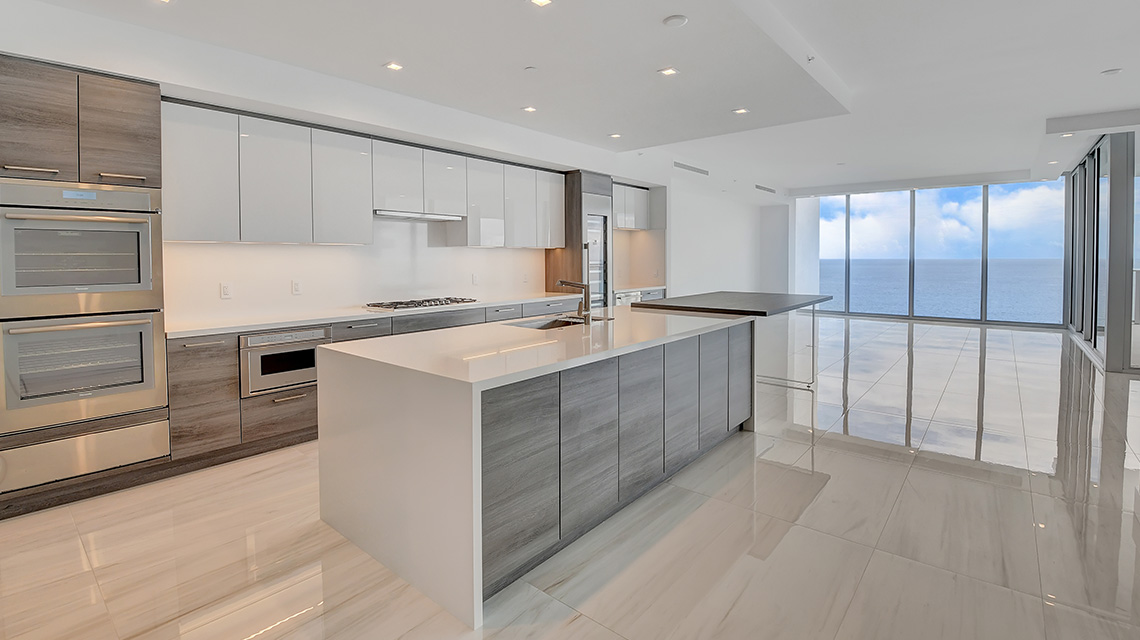 5000 North Ocean Seabreeze South 1603 kitchen