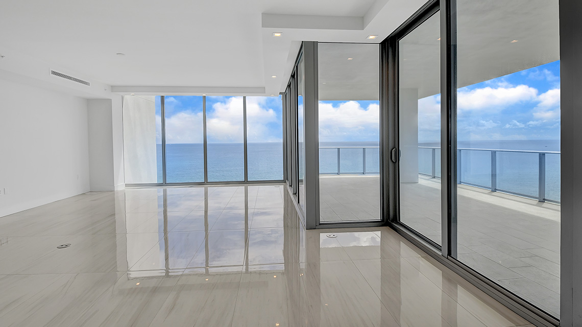 5000 North Ocean Seabreeze South 1603 Living Room