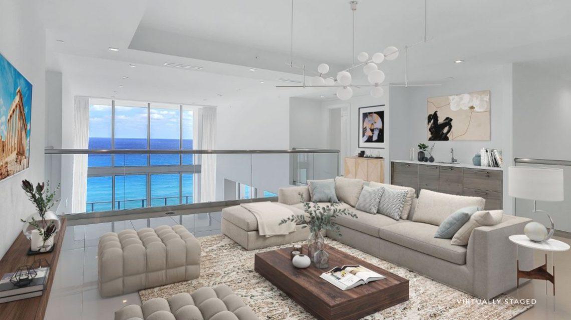 5000 North Ocean SeaGalss 1502 Virtually Staged Bonus Room