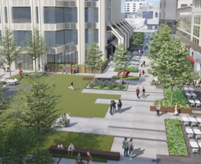 rendering of the walkability that is happening in buckhead atlanta