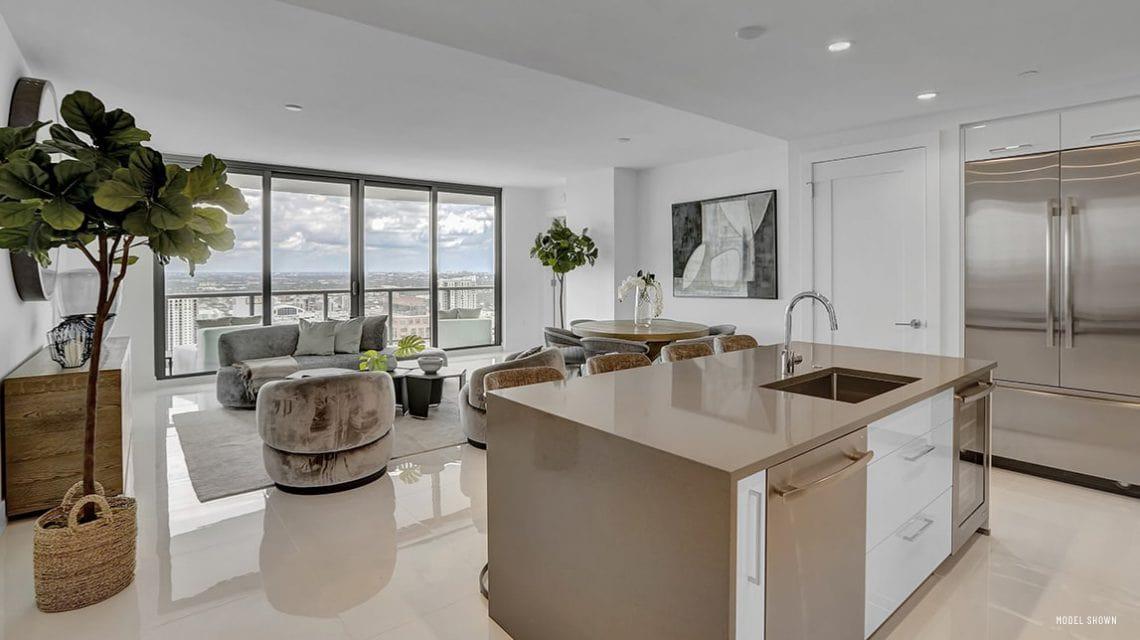 100 Las Olas Model Residence