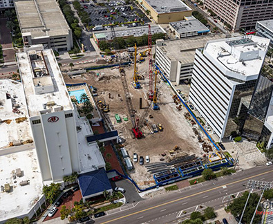 Even through Covid-19, construction projects in Tampa Bay hammer on, from luxury condos to office buildings