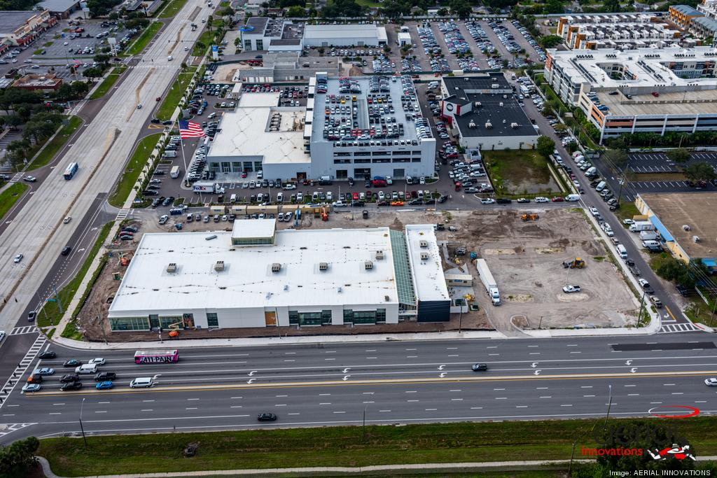 Rooms to Go Tampa's new showroom