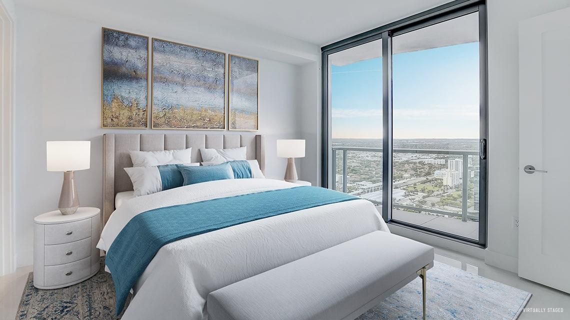 100 Las Olas Estate 4101 Bedroom