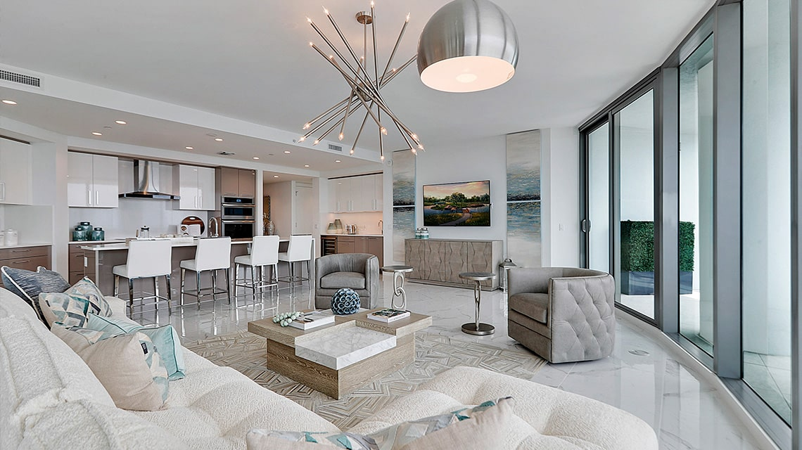 100 las olas residence c great room furnished