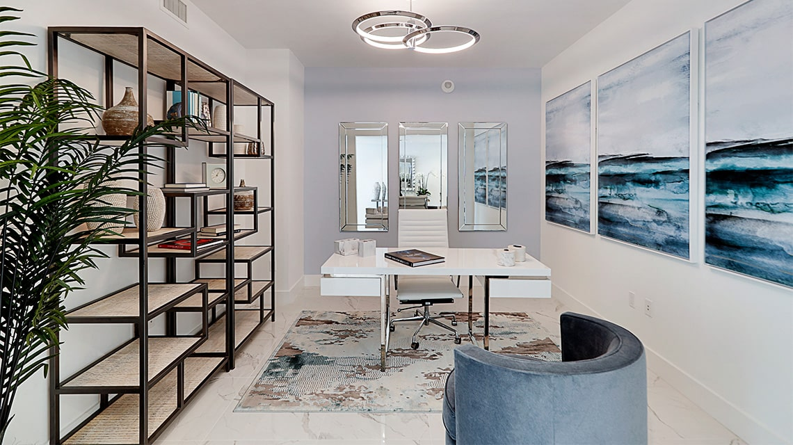 100 las olas residence c office furnished