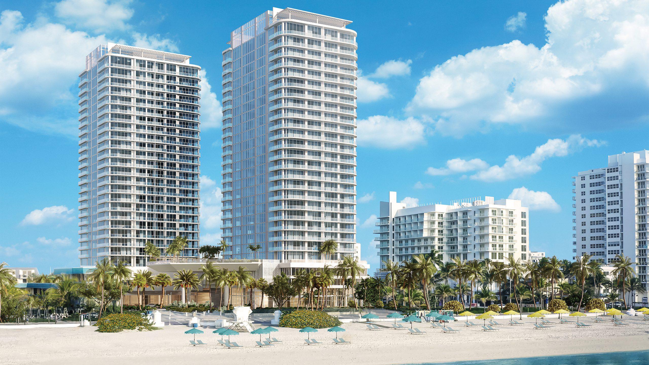 Selene Oceanfront Residences Fort Lauderdale Luxury Real Estate